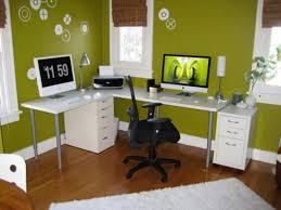 modern corner desk green wall color and modern white corner desk for stylish