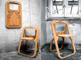 wooden folding chair creative ideas for home interior design