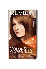 light golden brown hair color amazon com revlon colorsilk hair color 54 light golden brown 1