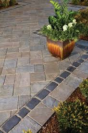 Backyard Stone Ideas by Best 25 Unilock Pavers Ideas On Pinterest Pavers Patio Paver