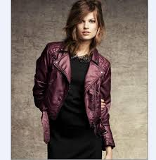 arrow winter leather jackets new style for young girls and women