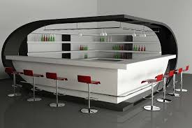 Modern Home Bar by Decorations Modern Black White Home Bar Design With Modern White