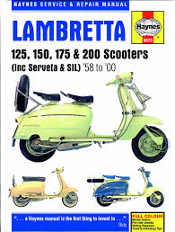 haynes service and repair manual for lambretta scooters u2013 scootering