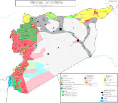 Syria Situation Map by Iran Deal Fuels Syrias War Adorable Map Syria Iran Evenakliyat Biz
