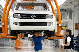 volkswagen germany volkswagen to begin production of amarok pickup truck in germany