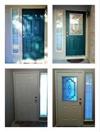 patio door glass inserts zabitat took this boring 6 panel door and added expressions door