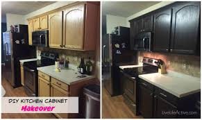 Painting Kitchen Cabinets Before And After by Kitchen Furniture Beautiful Paintingchen Cabinets Before And After