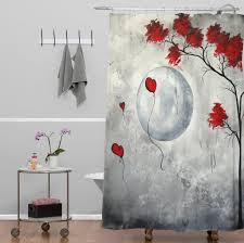 Unique Fabric Shower Curtains Bathroom Mind Blowing Unique Shower Curtains Unique Fabric