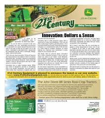 21st century equipment flyer may june 2015 by 21st century