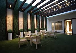 terrace sitout space in a single family residence in india oc
