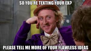 Birthday Sex Meme - how to handle a birthday text from your ex the modern day girlfriend