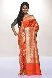 dhakai jamdani saree buy online buy silk sarees online benarasi chiffon dhakai jamdani saree