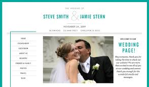 our wedding website your day your way create a wedding website part 1