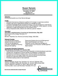 Example Training Coordinator Resume Restaurant Manager Resume Sample Resumelift With Regard To