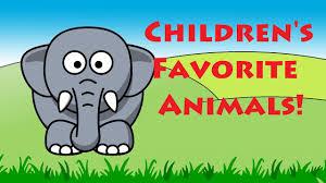 children u0027s favorite animals learning english animal names kids
