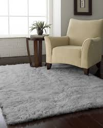 Pretty Area Rugs Decor Fur Grey Area Rug With Unique Wood End Table Also Wall