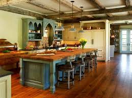 Wooden Country Kitchen - kitchen country cottage normabudden com