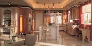 kitchen room design decorations for elegance orange paint color