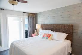 Rustic Bedroom Decor by Bed U0026 Bath Cape Cod Bedroom Ideas With Wood Wall Paneling And