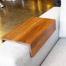 custom arm drink rest laptop table for straight arm sofa home
