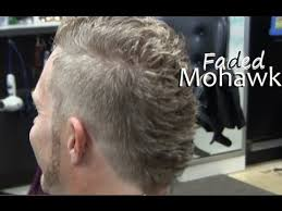 older men getting mohawk haircuts videos mens mohawk hairstyle fade haircut video clipper cut on blonde