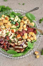 italian power salad with white beans sun dried tomatoes and
