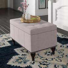 storage bench coffee table charlton home darrah upholstered storage bench reviews wayfair