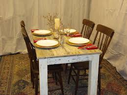 30 x 48 dining table driftwood table distressed white table 60 x 30