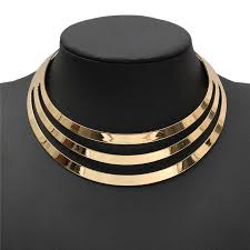 accessories collar necklace images 3 layer choker the buying place jpg