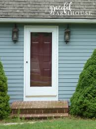front door makeover farmhouse interior design and decorating