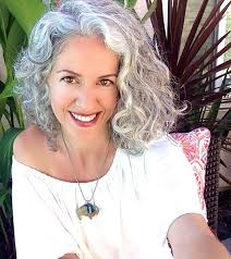 hairstyles for thick grey wavy hair the 25 best curly gray hair ideas on pinterest why grey hair is