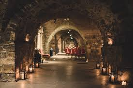 wedding arches ireland sinead and beautiful wedding in crypt christchurch