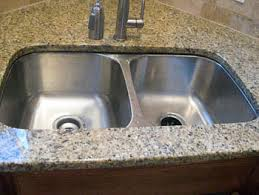Inset Sinks Kitchen Stainless Steel by Undermount Sinks In Granite Countertops