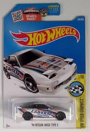 nissan hotwheels 96 nissan 180sx type x 2016 hw speed graphics series 1 10