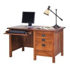 Craftsman Style Computer Desk Mission Home Office Furniture Foter Mission Style Desks For Home