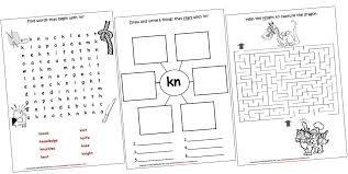 digraphs lapbook and worksheets kn iman u0027s home