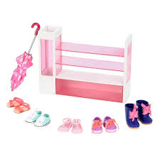 Target Our Generation Bed Our Generation Shoe Rack Accessory Set Target