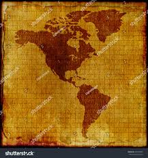 Old Map South America by Old Brass Golden Compass Vintage Map Stock Photo 403569886