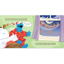 twas the night before christmas on sesame street personalized book