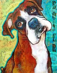 boxer dog art boxer art boxer dog art boxers pinterest boxers art and