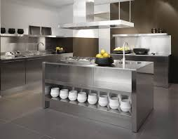 Stainless Steel Kitchen Sink Cabinet by Stainless Steel Kitchen Cabinets For Well Designed Kitchen