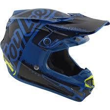 safest motocross helmet new troy lee designs 2018 mx se4 polyacrylite factory blue tld