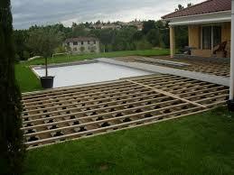 nettoyage terrasse bois composite nivrem com u003d pose de terrasse en bois composite sur plots