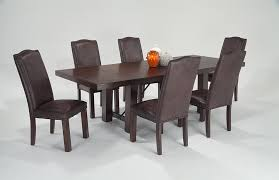 mesa 7 piece dining set with upholstered side chairs bob u0027s
