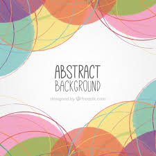 hand painted abstract background vector free download