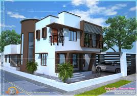 beautiful contemporary home plan kerala home design and floor plans
