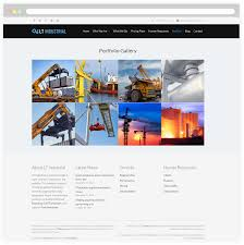 Industrial Theme by Lt Industrial U2013 Free Responsive Engineering Industrial Wordpress