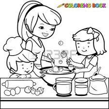 coloriage ustensiles de cuisine dessin ustensiles de cuisine banque d images vecteurs et