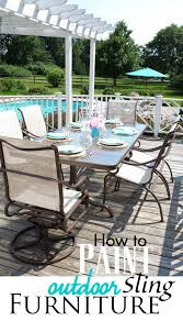 Where To Buy Replacement Vinyl Straps For Patio Furniture Replacing The Fabric On Sling Chairs House Ideas Pinterest