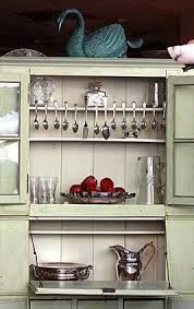 Antique Kitchen Hutch Cupboard Hoosier Cabinets